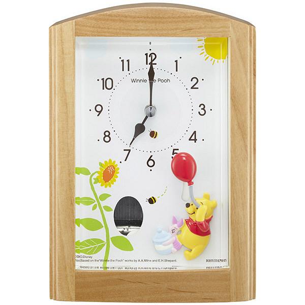 クオーツ目覚まし時計 くまのプーさん