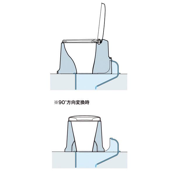 アロン化成 安寿 サニタリエース SD据置式 暖房便座タイプ 補高#8 871-148 (直送品)