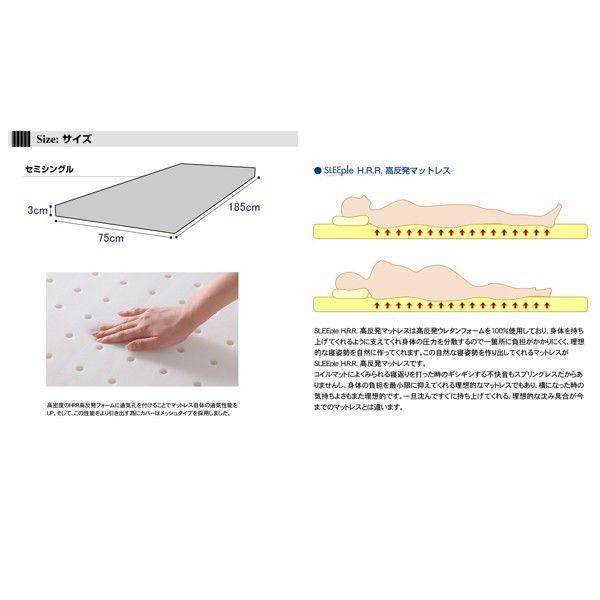 ファミリー・ライフ ポータブルマットレスSS セミシングル ネイビー (直送品)