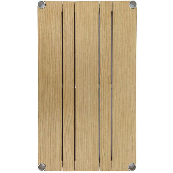 ルミナス ポール径25mm 追加パーツ 棚板(ウッドシェルフ ナチュラル) 幅610×奥行460mm WS6045-NA
