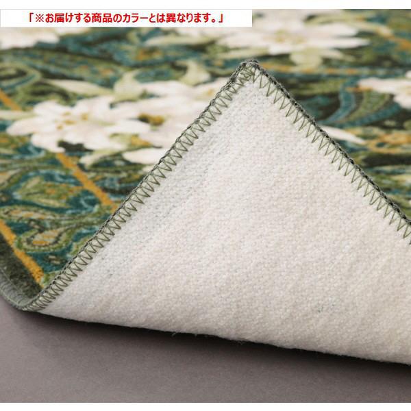 ファミリー・ライフ 抗菌・防臭加工廊下敷 エンジ 800×1800mm (直送品)
