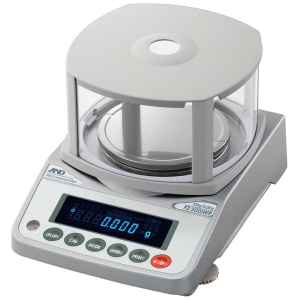取引証明用(検定付)防塵・防水 校正用分銅内蔵汎用 FZ-2000iWPR 1台 エー・アンド・デイ (直送品)