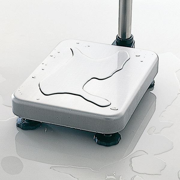 エー・アンド・デイ 取引証明用(検定付) 防塵・防水 デジタル台はかり 地区4 秤量(60kg/150kg/220kg) HV-200KGV-K (直送品)