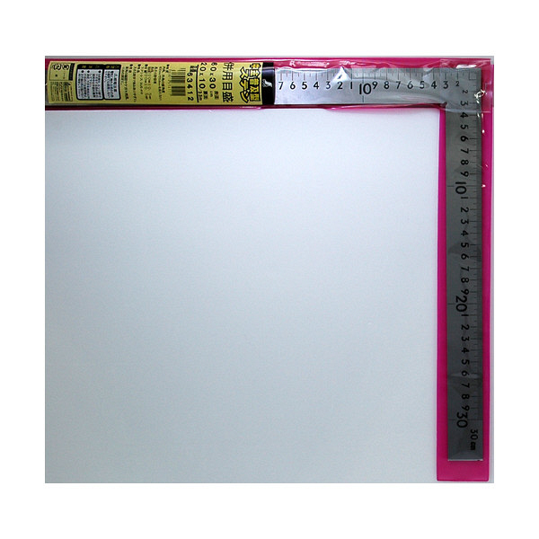 シンワ測定 曲尺中金普及型 ステン 併用目盛 2尺/呼寸 63.8cm 63412 (直送品)