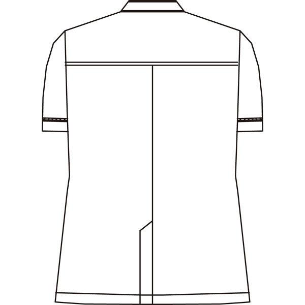 KAZEN メンズジャケット半袖 ホワイト LL ANP093-10 (直送品)