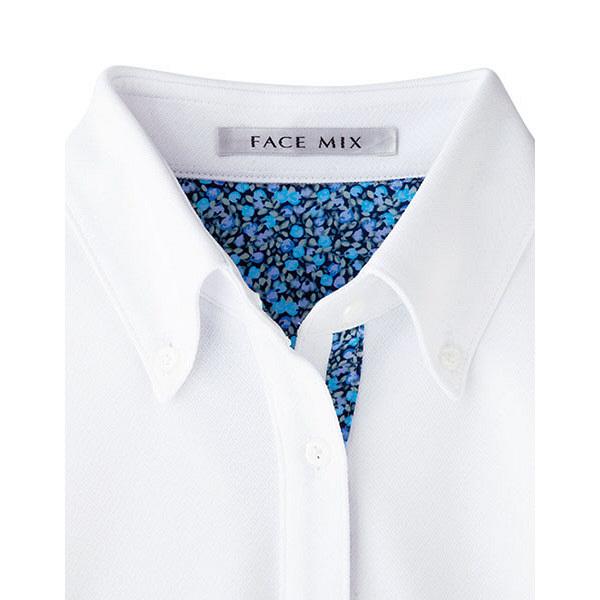 【メーカーカタログ】ボンマックス レディス吸水速乾ポロシャツ(花柄A) ブルー 3L FB4018L 1枚 (直送品)