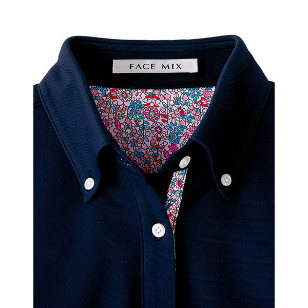 【メーカーカタログ】ボンマックス メンズ吸水速乾ポロシャツ(花柄B) ピンク L FB5025M 1枚 (直送品)
