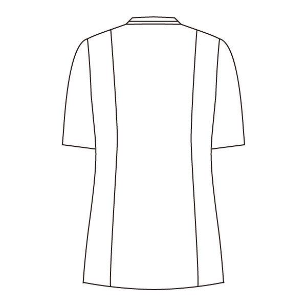 住商モンブラン ジャケット(男女兼用) 半袖 ワイン/ネイビー 3L 72-1226 (直送品)