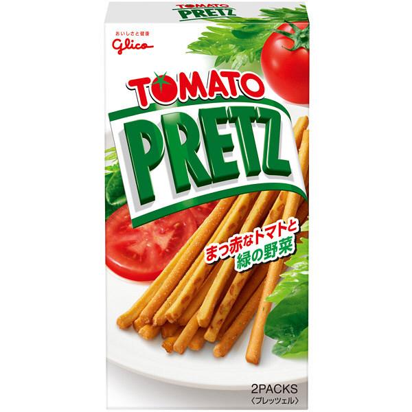 グリコ トマトプリッツ 60g 5箱