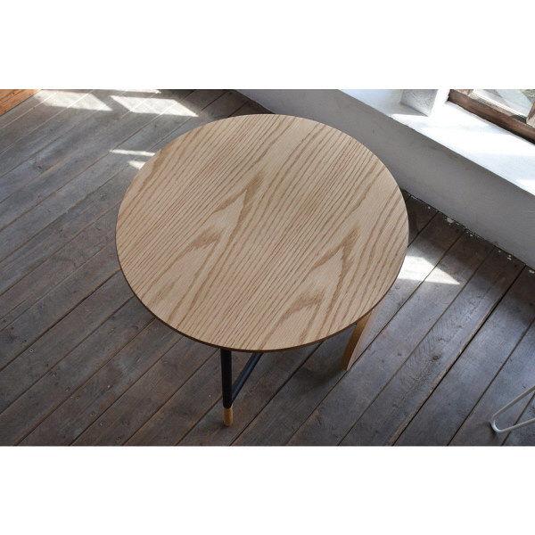 東谷(AZUMAYA) サイドテーブル ナチュラル 幅450×奥行450×高さ400mm 1台 (直送品)