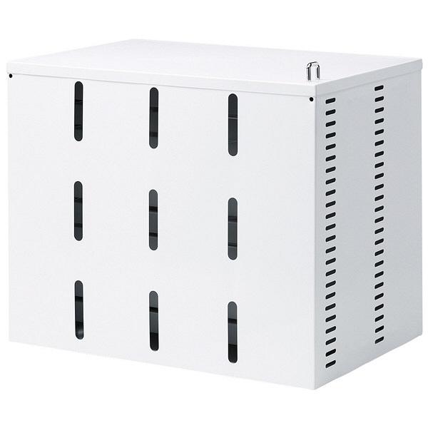 サンワサプライ スマホ・タブレット収納保管庫 CAI-CAB20W (直送品)
