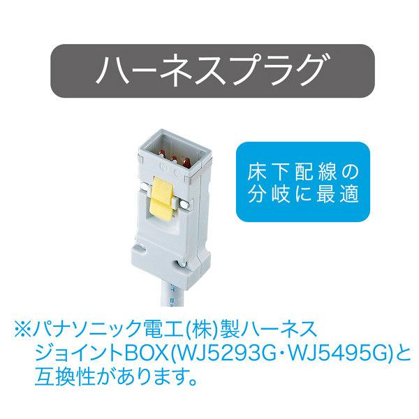 サンワサプライ 工事物件タップ 3P式(抜け止めタイプ)・8個口 8個口 1m TAP-KH8-1 1個 (直送品)