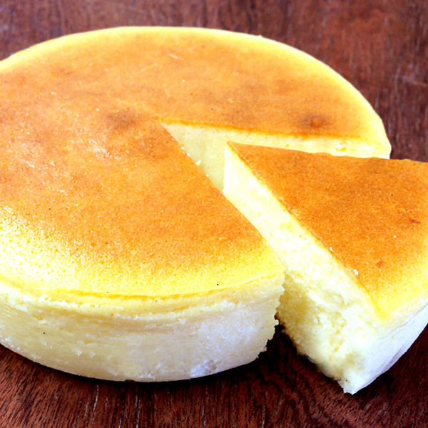 べイクドチーズ&カスタードチーズケーキ