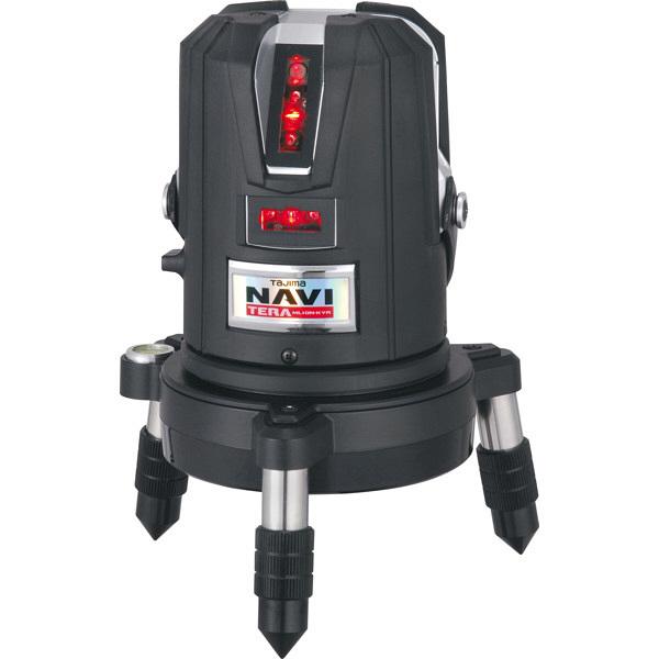 タジマ レーザー墨出し器 NAVITERAレーザー矩・横・両縦/10m/IP ML10N-KYR