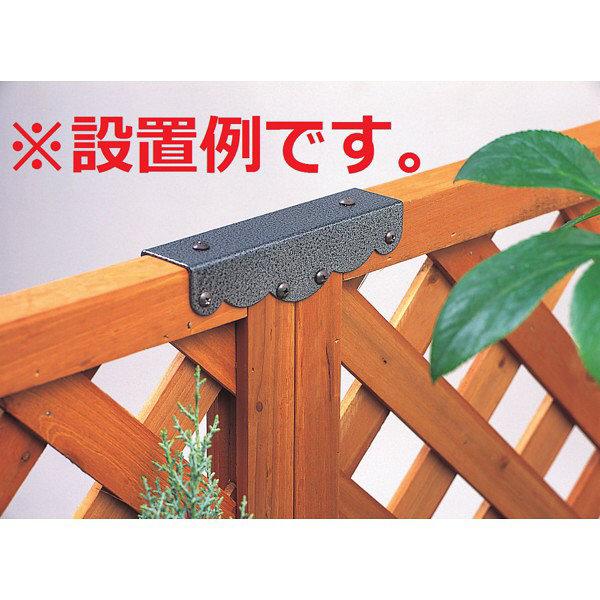 タカショー ラティス用固定金具 直線連結用 TKL-01 1セット(10個入) (直送品)