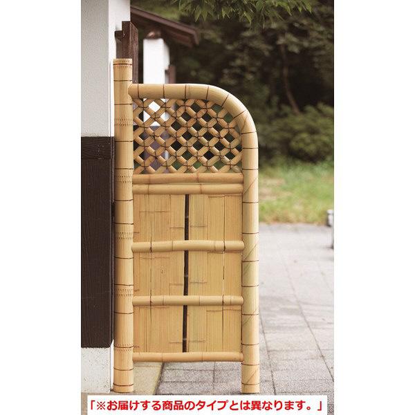 ファミリーライフ 竹玉袖垣 幅550X高さ1600mm 02553 1枚 (直送品)