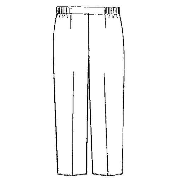 KAZEN レディススラックス 医療白衣 サックス M 192-21 (直送品)
