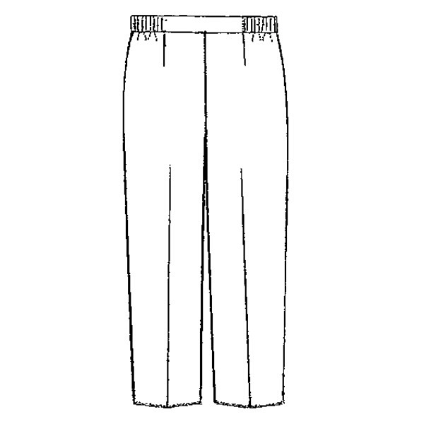 KAZEN レディススラックス 192 ミント 3L 白衣 1枚 (直送品)