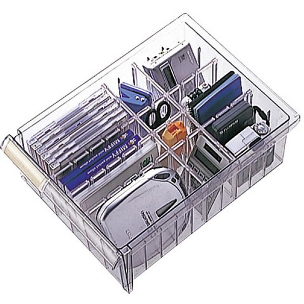 ナカバヤシ メディシス 引出しユニット L 幅266×奥行367×高さ133mm MDF-A301CD 1個 (直送品)