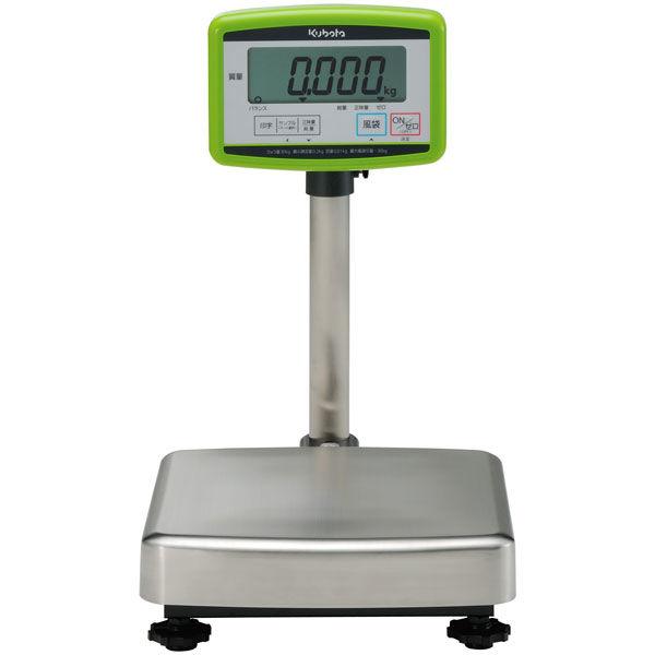 クボタ計装 デジタル台はかり30kg用(検定無) コストパフォーマンス KL-BF-N30SH (直送品)