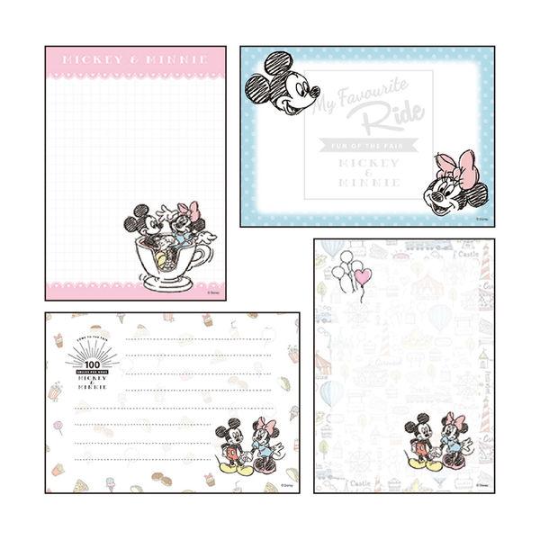 メモ帳A6 ディズニー 3冊入(取寄品)