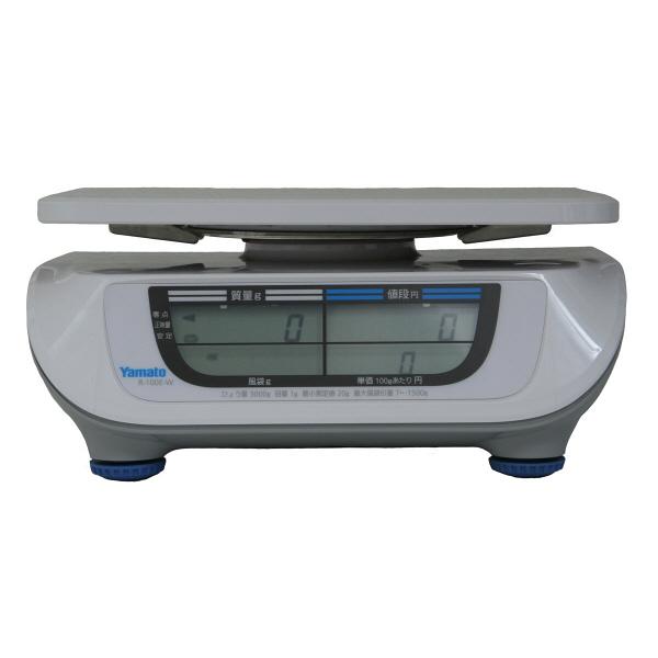 料金はかり PriceNAVI 15kg 検定品 R-100E-W-15-3 大和製衡 (直送品)