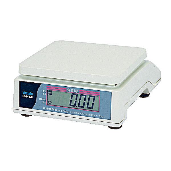 デジタル上皿はかり UDS-1V 30kg 検定品 UDS-1VD-30-4 大和製衡 (直送品)