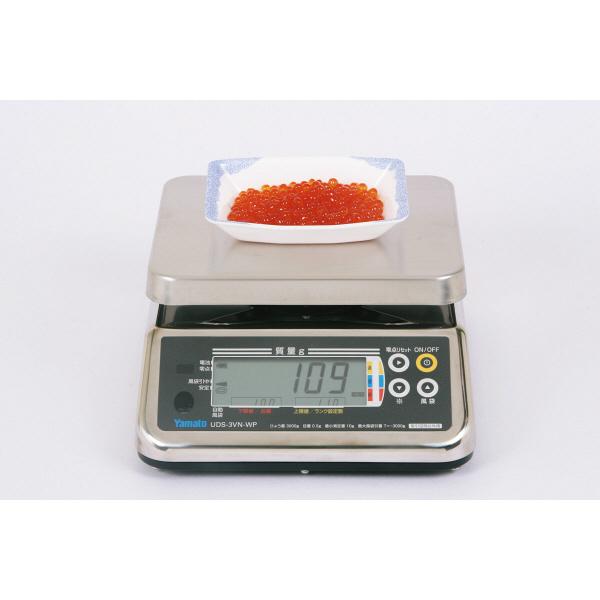 防水型デジタル上皿はかり UDS-5V-WP 15kg 検定品 UDS-5V-WP-15-1 大和製衡 (直送品)