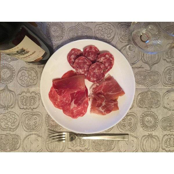 成城石井イタリア産 生ハム・サラミセット