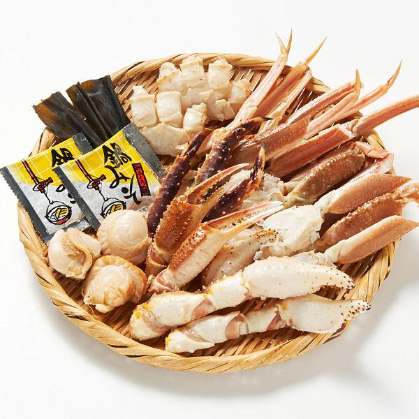大漁カニ鍋