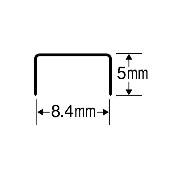 マックス ホッチキス針 10号 NO.10-1M-20P (直送品)