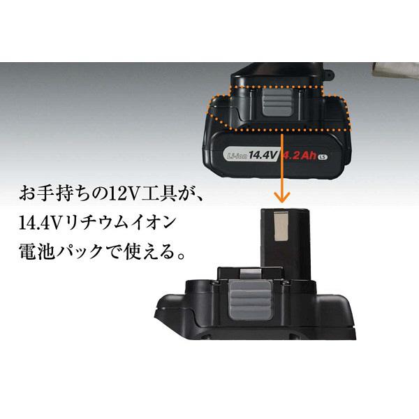 パナソニック Panasonic リチウムイオン電池パック(14.4V 4.2Ah LSタイプ)セット EZ9740ST (直送品)