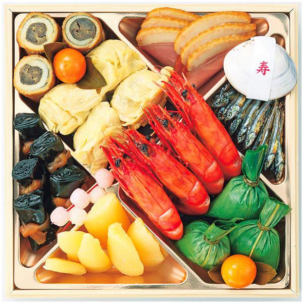 京菜味のむら 桂 三段重