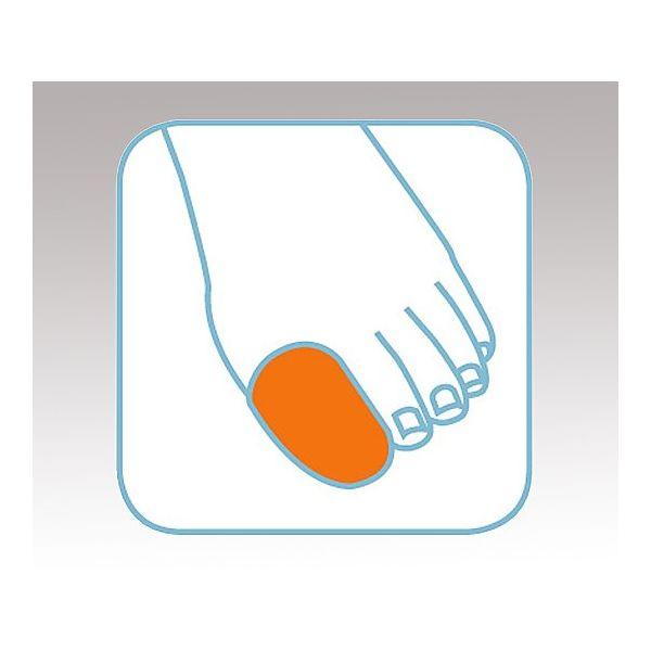 小原工業 セラステップ ゲルトゥキャップ(小) 1個入 6203 1セット(3個) 8-9050-01(直送品)