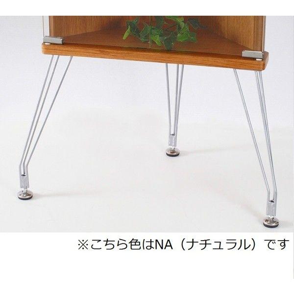 塩川光明堂 KADO カド コレクションケース ブラウン 幅450×奥行285×高さ1100mm 1台 (直送品)