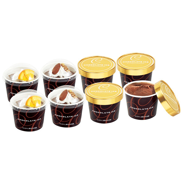 京都 クーベルチュールチョコアイス