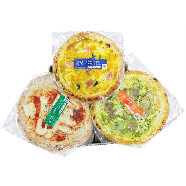 北海道産ちーずのピッツァセット