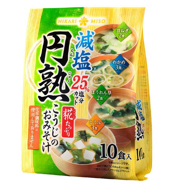 ひかり味噌円熟こうじのおみそ汁減塩10食