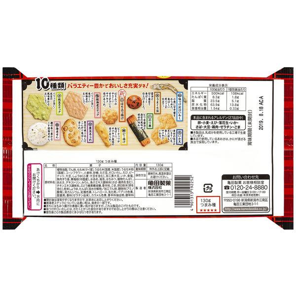 亀田製菓 130gつまみ種