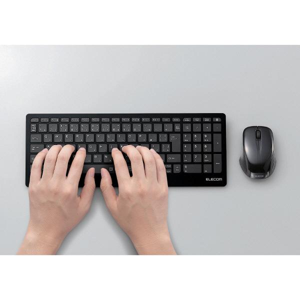 エレコム 薄型キーボード+マウスセット
