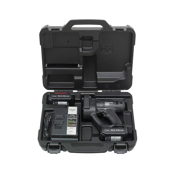 パナソニック Panasonic 【DUAL】 充電全ネジカッター 14.4V 5.0Ah ブラック EZ45A4LJ2F-B (直送品)