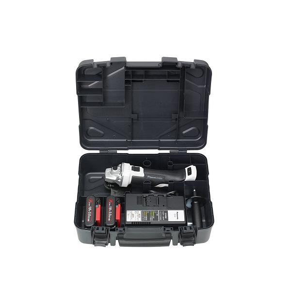 パナソニック Panasonic 充電ディスクグラインダー125 18V 3.0Ah グレー EZ46A2PN2G-H (直送品)