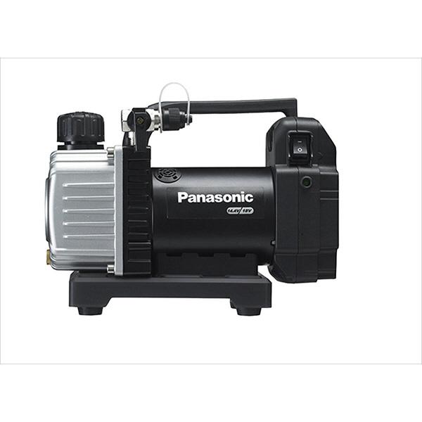 パナソニック Panasonic 【DUAL】 充電真空ポンプ(14.4V/18V両用) 本体のみ ブラック EZ46A3X-B (直送品)