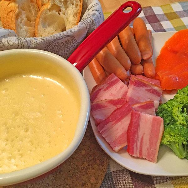 成城石井のおすすめチーズフォンデュセット