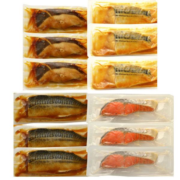 氷温熟成 煮魚焼魚詰合せ 4種12個
