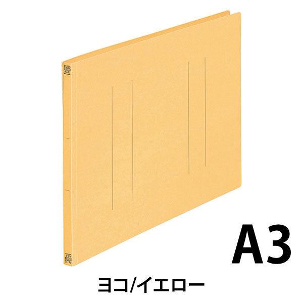 プラス フラットファイルA3E縦罫線タイプYL 98207 (直送品)
