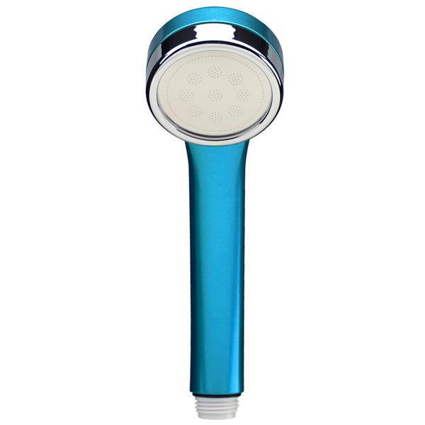 マジカヨ・アリエーネ シャワーヘッド 節水 極細 (シャワー穴0.3mm 肌触り・浴び心地やわらか 低水圧対応 スカッシュブルー) GA-FA017 (直送品)