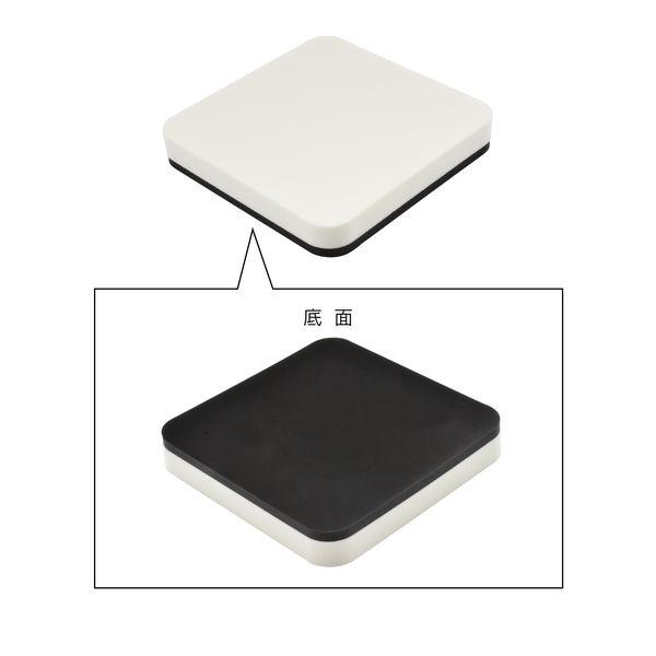 ガオナ 洗濯機用 防振マット 4枚入り (振動軽減 置くだけ簡単)GA-LF002 (直送品)
