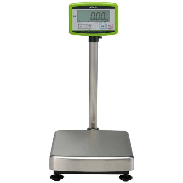 クボタ計装 デジタル台はかり150kg用(検定品) KL-BF-K150A(地区16) (直送品)