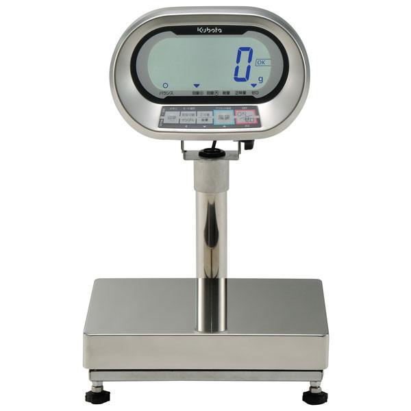 クボタ計装 防水防塵デジタル台はかり6kg用(検定品) KL-IP-K6MS(地区8) (直送品)